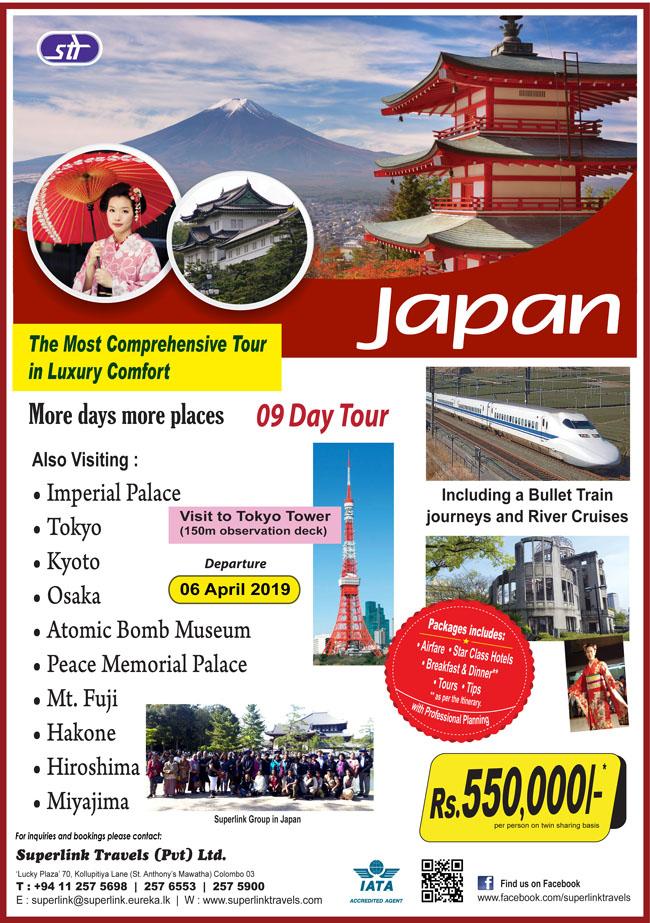 superlink travels japan tour 2019